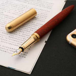 High Quality Wood Grain Fountain Pen - LFE's Art Studio
