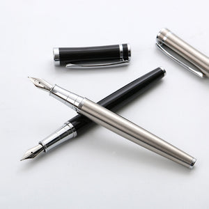 Smooth Metal Classic Fountain Pen