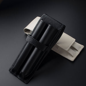 Smooth Double Pouch Fountain Pen Case - LFE's Art Studio