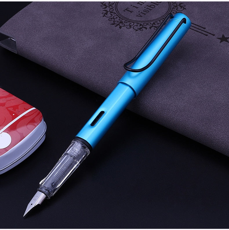 Fashionable Transparent Fountain Pen