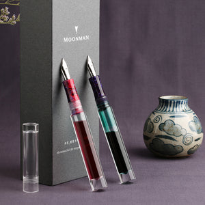 Premium Transparent Dropper Fountain Pen