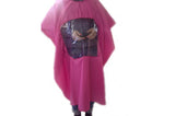 Hair salon barber microfiber cape with viewing window