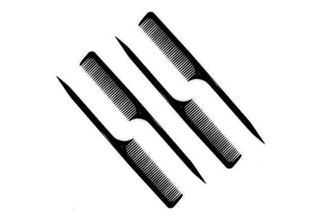 Professional hair comb set of 4 pcs