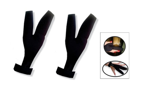 Heat resistant glove for hair styling set of 2 pcs