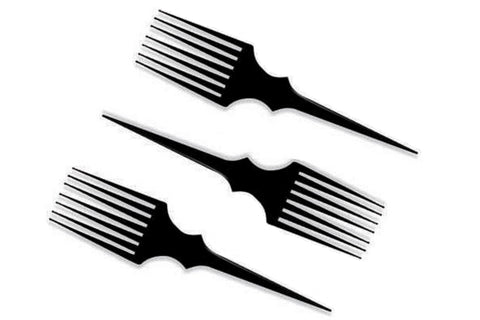 Pick hair comb set of 3 pcs