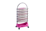 Manicure nail polish trolley display organizer Classic - 6 trays