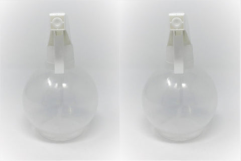Round spray bottle (11.8oz/350ml) - set of 2 pcs