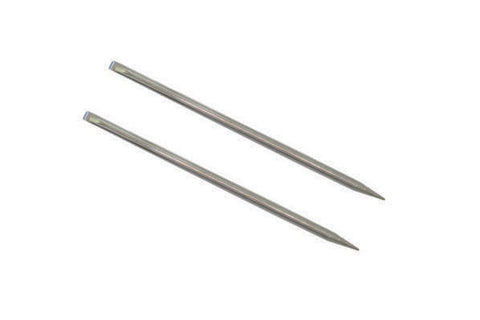Stainless steel manicure stick - set of 2 pcs