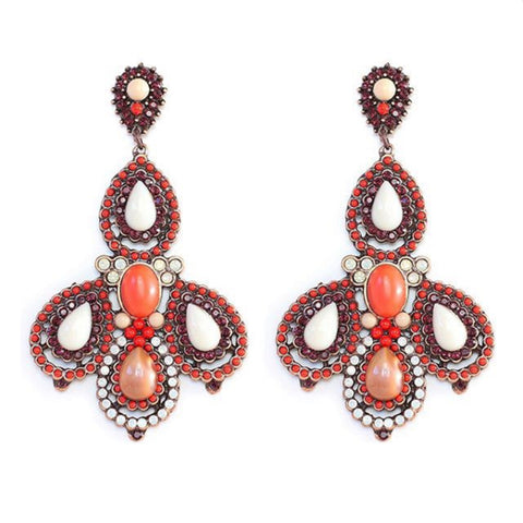 Enchanting Colors Chandelier Earring
