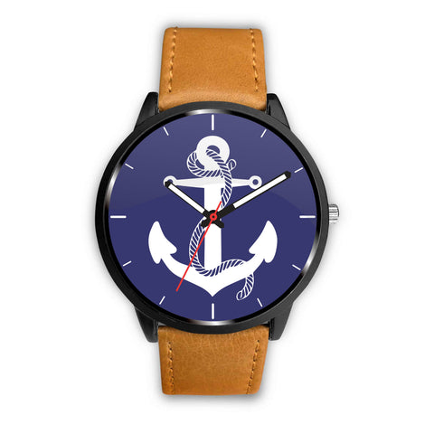 Anchor Navy Blue Watch
