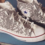 SAYTHEIRNAME Custom Chuck Taylor Hightops