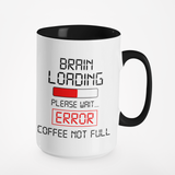 Brain Loading Please Wait... | Mug