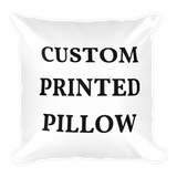 Custom Printed Pillow 20x20