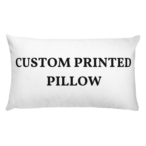Custom Printed Pillow 20x12