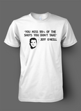 Jeff O'Neill's You Miss 99% Tee