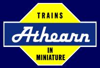 Athearn Model Trains Logo on Model Train Markets Collection Page with products from Athearn