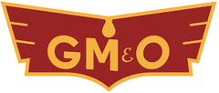 GM&O Gulf Mobile & Ohio Railroad Company Logo