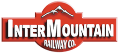 InterMountain Railway Co. Logo on Model Train Markets Collection Page with Products from InterMountain.