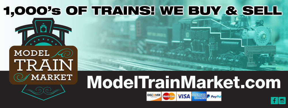 Buy Model Trains Online. 1,000's of Model Trains Available in All Scales. We buy & sell model trains!