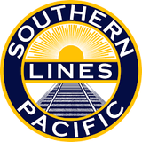 SP Southern Pacific Lines Railroad Company Logo