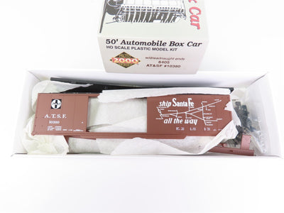 HO Scale Life-Like Proto 2000 8405 ATSF Santa Fe 50' Box Car #10380 Model Kit