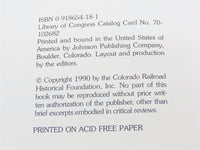 Railroading in the Rockies a Half Century Ago: Colorado Rail Annual No. 18 - Model Train Market