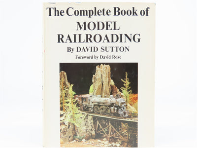 The Complete Book of Model Railroading by David Sutton ©1964 HC Book