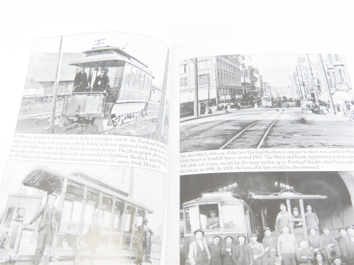 Images of Rail: Portland's Streetcars by Richard Thompson ©2006 SC Book - Model Train Market