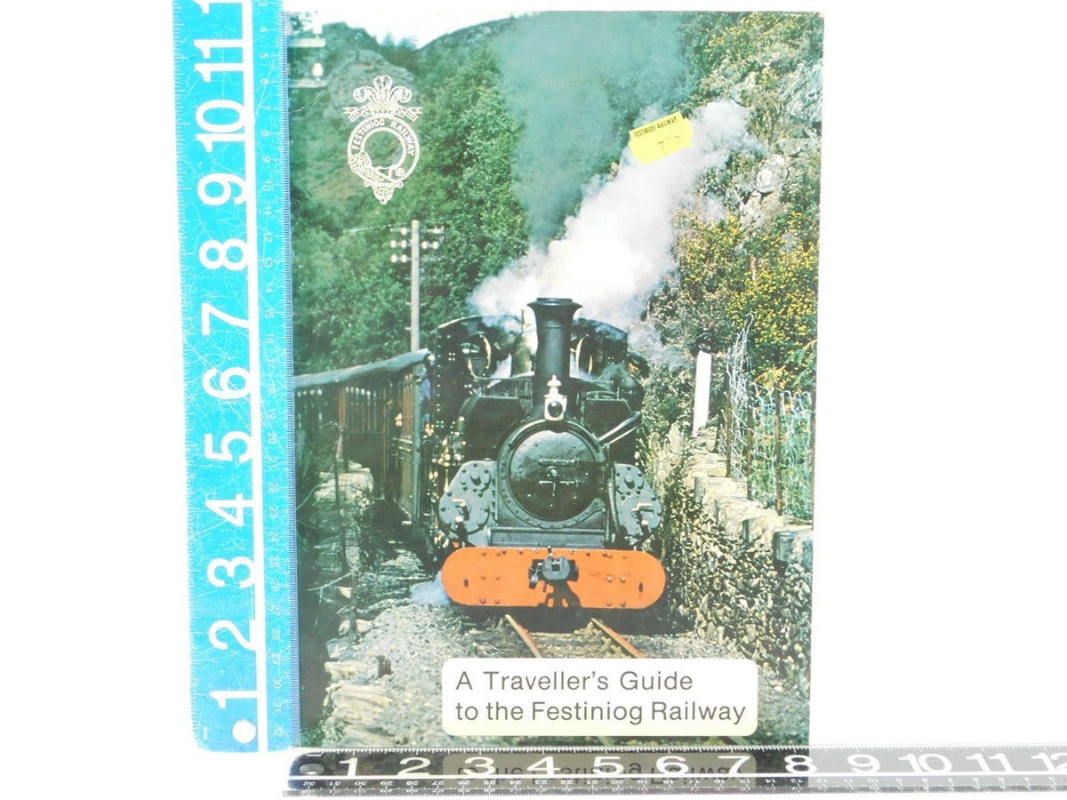 A Traveller's Guide to the Festiniog Railway, J.C. Manisty, Secretary - Model Train Market
