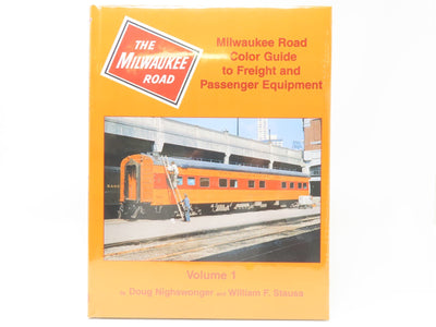 Milwaukee Road Color Guide to Freight & Passenger Equip. Vol. 1 - Morning Sun