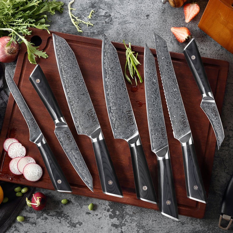 Haro Cutlery Pacific Series 9-Piece Knife Set