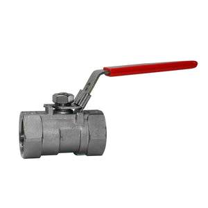 1000# Stainless Steel Ball Valve. Female NPT Threads