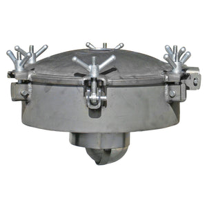 "20"" Steel Primary Shutoff, 6"" Steel Neck   3"" Opening with 470 CFM  4"" Opening with 595 CFM  6 Standard Wing Nut Assembly  27"" W x 17"" H"
