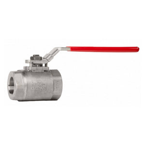 2-Piece 6000# Stainless Steel Ball Valve
