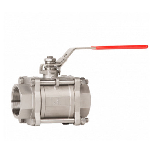 3-Piece 1000# Stainless Steel Ball Valve