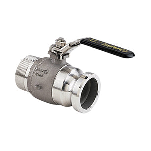 Banjo Stubby Valve - Full Port Stainless Steel