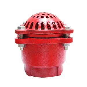 Gladiator Red Cast Iron Foot Valve with Female NPT threads