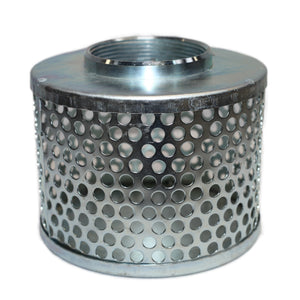 Gladiator Round Hole Zinc Plated Steel Strainer