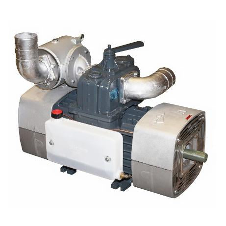 Jurop RV520 Vacuum Pump with Final Filter CCW Rotation - 520 CFM