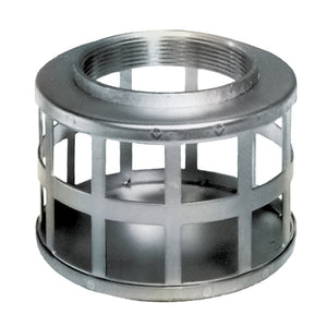 Gladiator Square Hole Zinc Plated Steel Strainer with Female NPT Threads