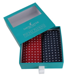 Pair of Boxed Cotton Handkerchiefs