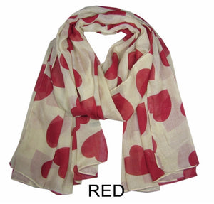 Love Hearts Scarf
