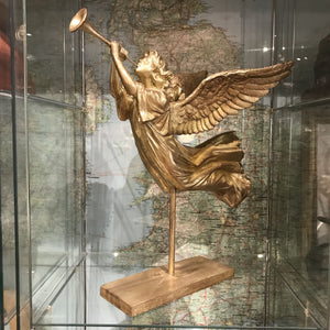 Angel with Trumpet on Stand