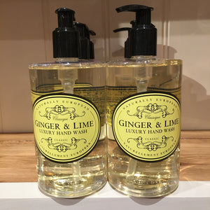 Naturally European Ginger and Lime 500ml Hand Wash
