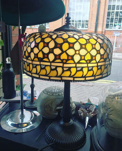 Tiffany Styled Stained Glass Lamp