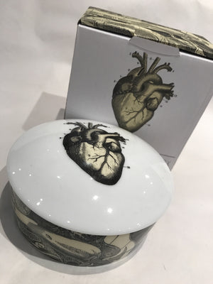 Heart Anatomical Trinket Box