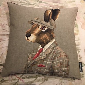 The Huntsman Rabbit Cushion