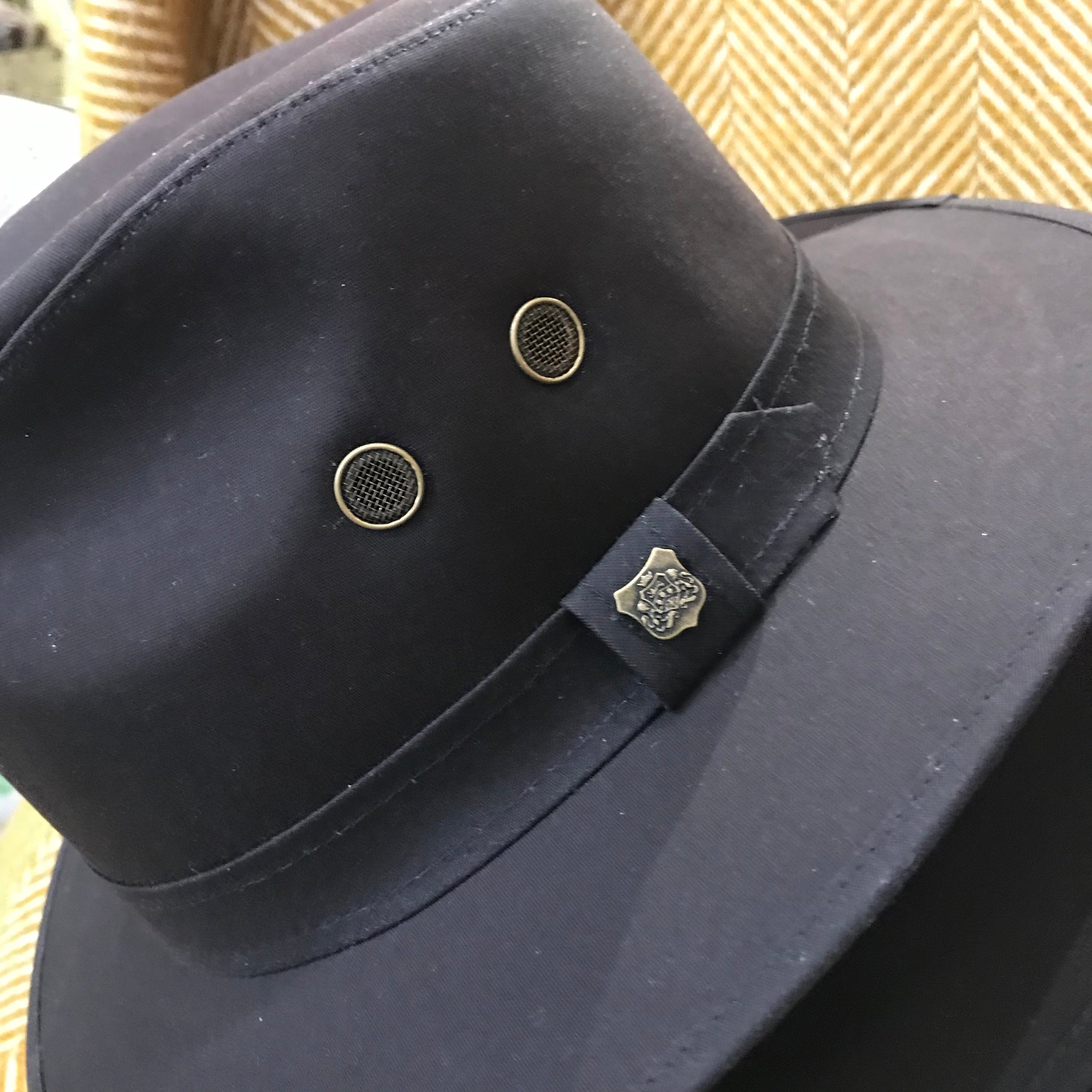 Waxed Cotton Drifter Fedora Hat