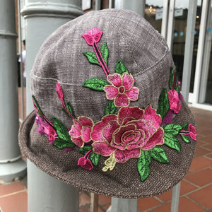 Vintage style cloche hat