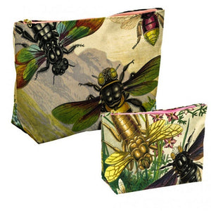 Cotton WashBag - Rainbow Bugs